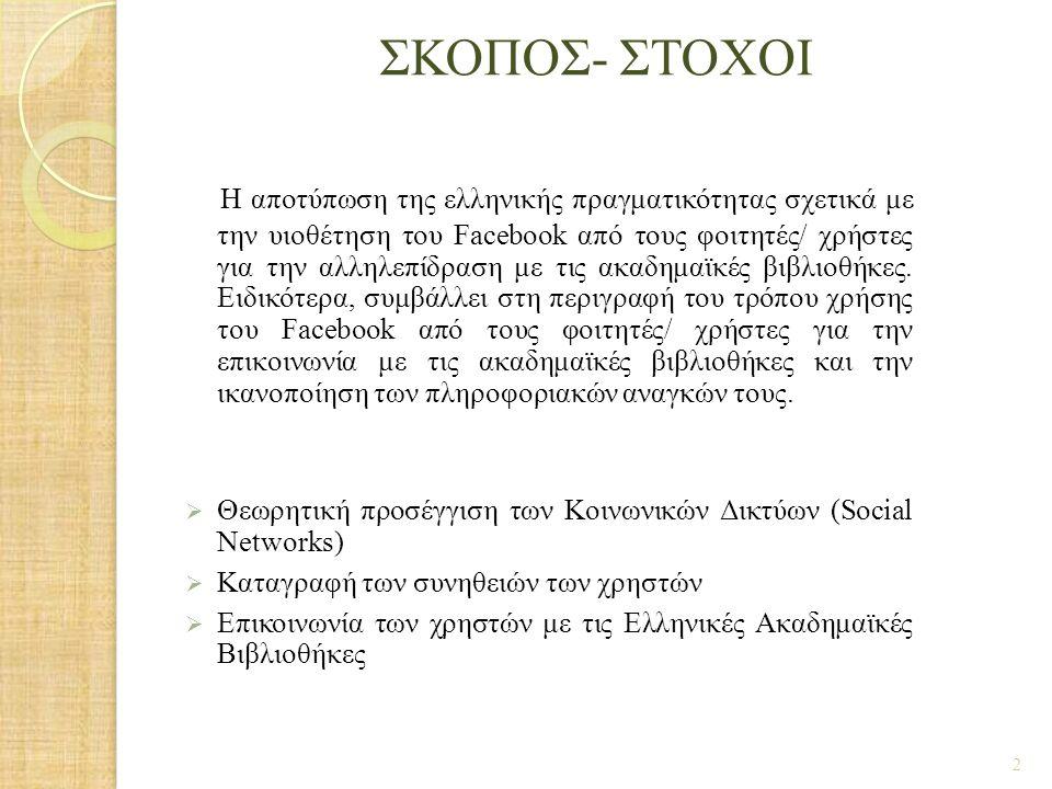 ΣΚΟΠΟΣ- ΣΤΟΧΟΙ