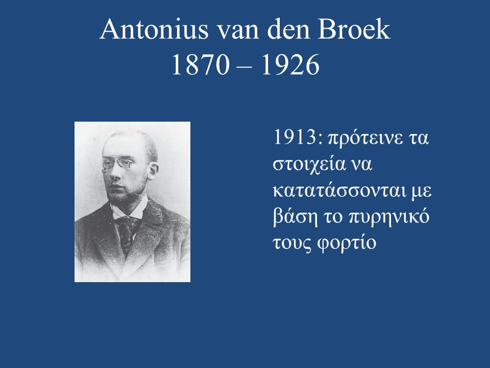 Antonius van den Broek 1870 – 1926