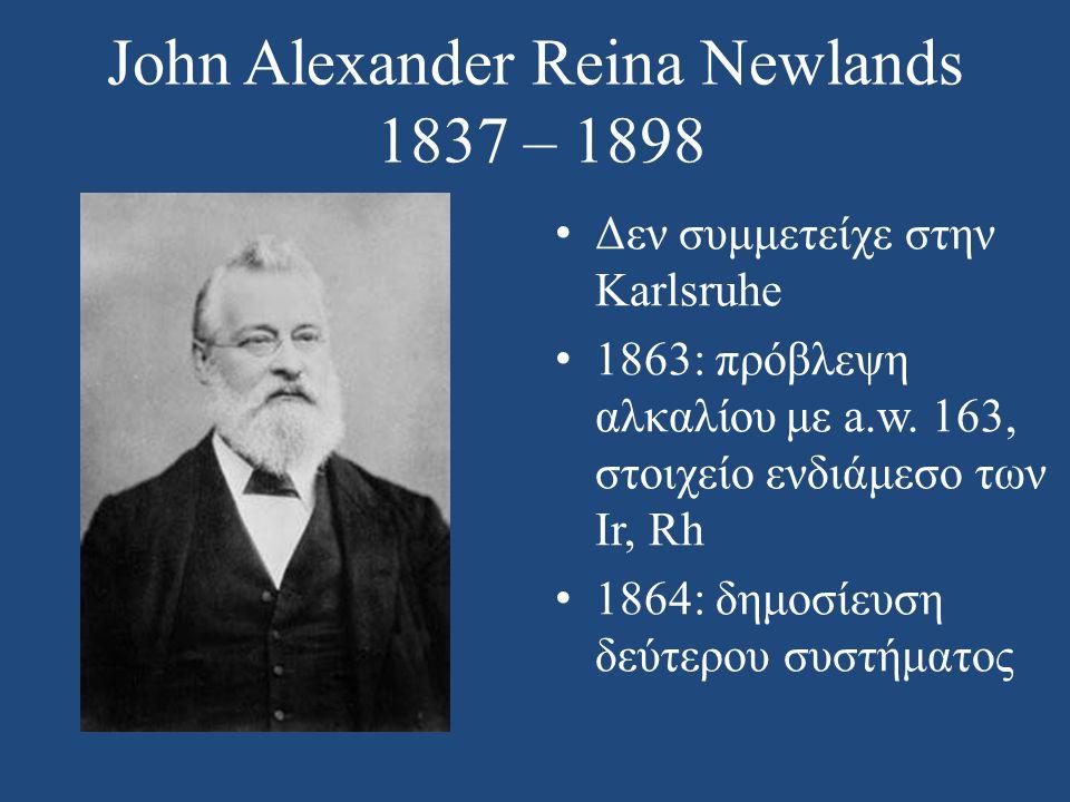John Alexander Reina Newlands 1837 – 1898