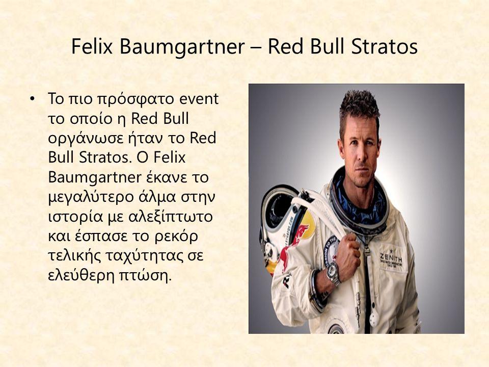 Felix Baumgartner – Red Bull Stratos