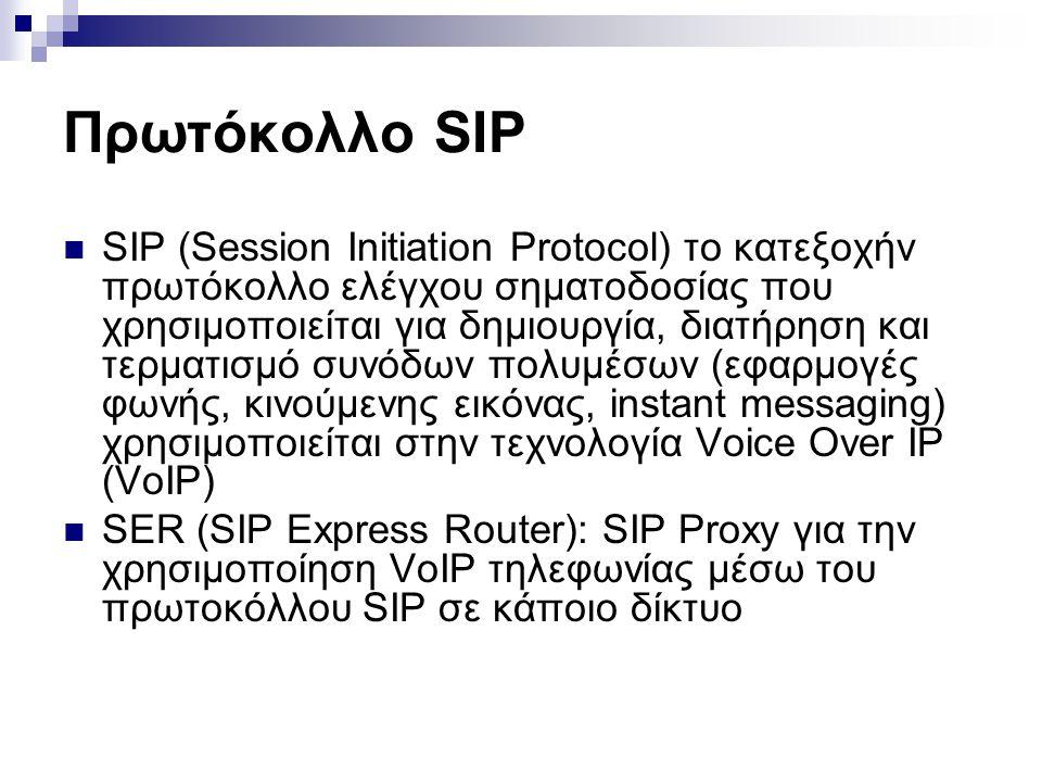 Πρωτόκολλο SIP