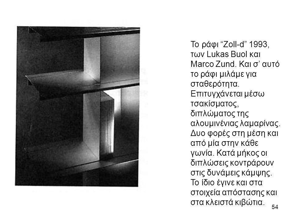 Το ράφι Zoll-d 1993, των Lukas Buol και Marco Zund