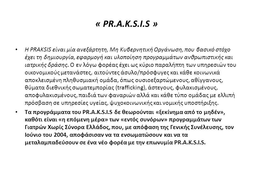 « PR.A.K.S.I.S »
