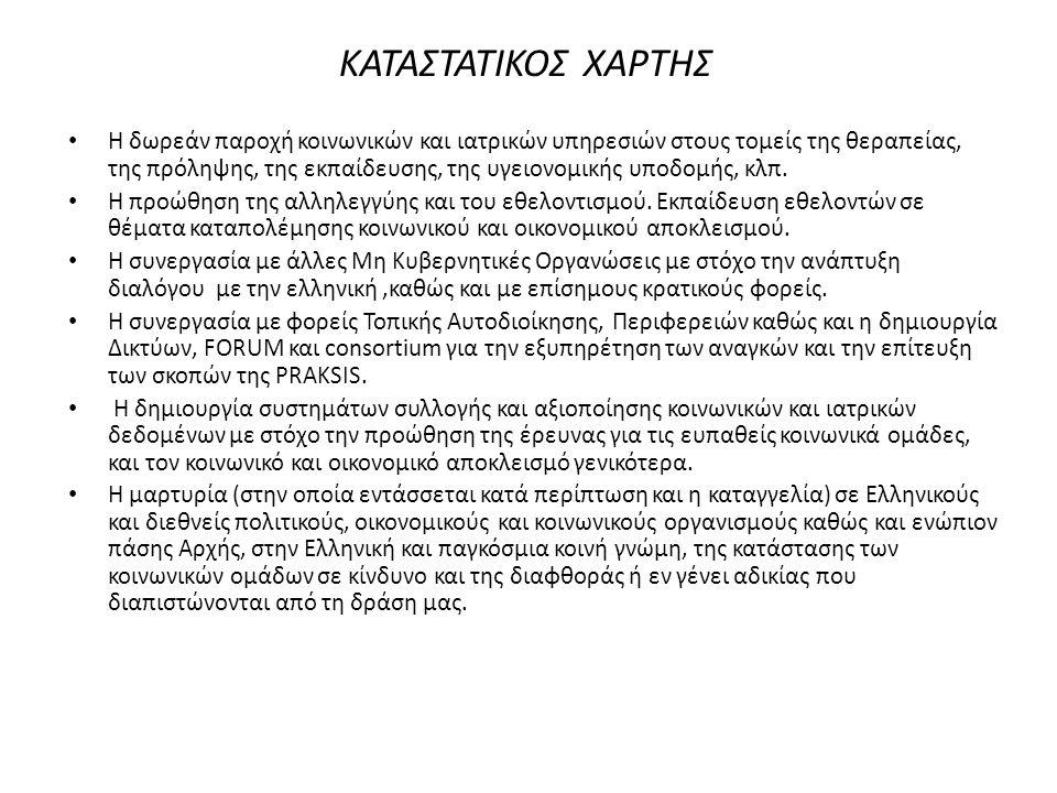 ΚΑΤΑΣΤΑΤΙΚΟΣ ΧΑΡΤΗΣ