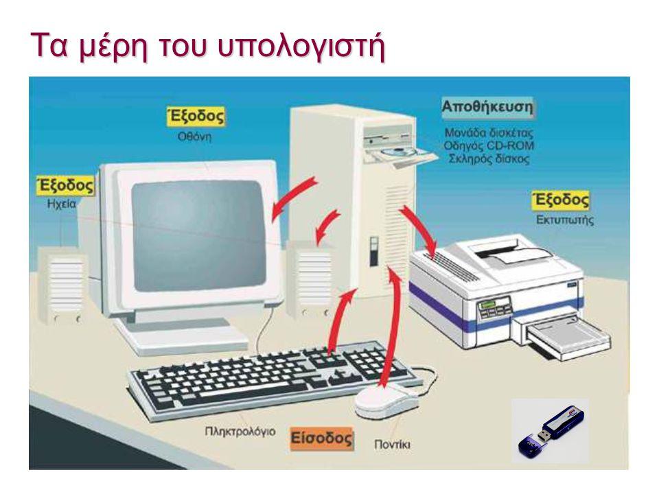 Τα μέρη του υπολογιστή