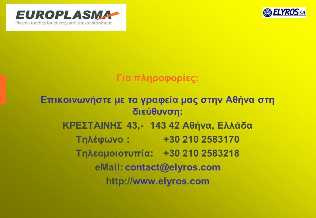 Επικοινωνήστε με τα γραφεία μας στην Αθήνα στη διεύθυνση: