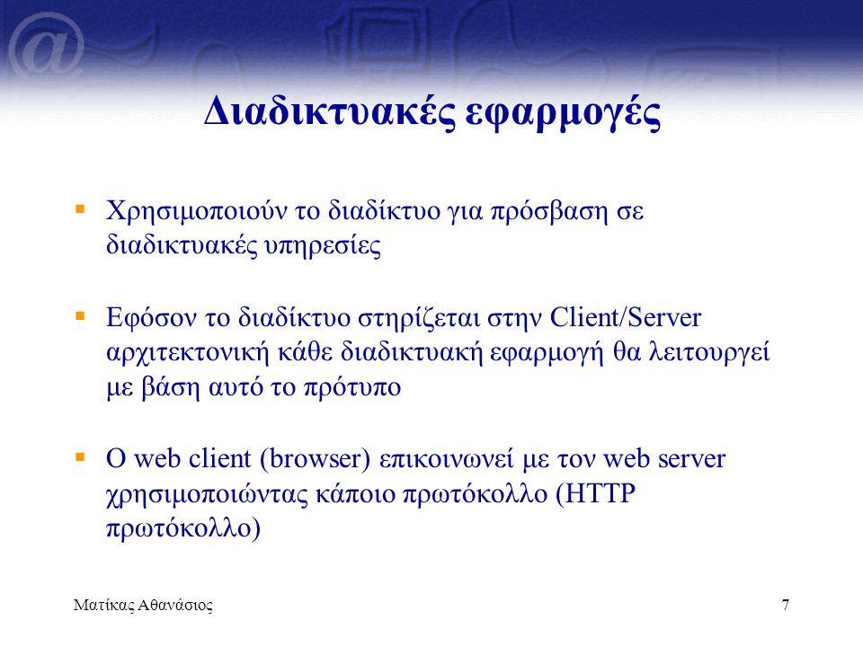 Διαδικτυακές εφαρμογές