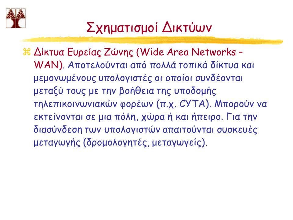Σχηματισμοί Δικτύων