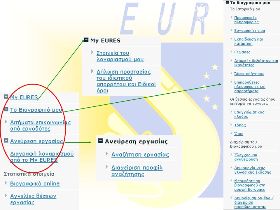 Αναζητούντες εργασία: Συμπλήρωση βιογραφικού on-line