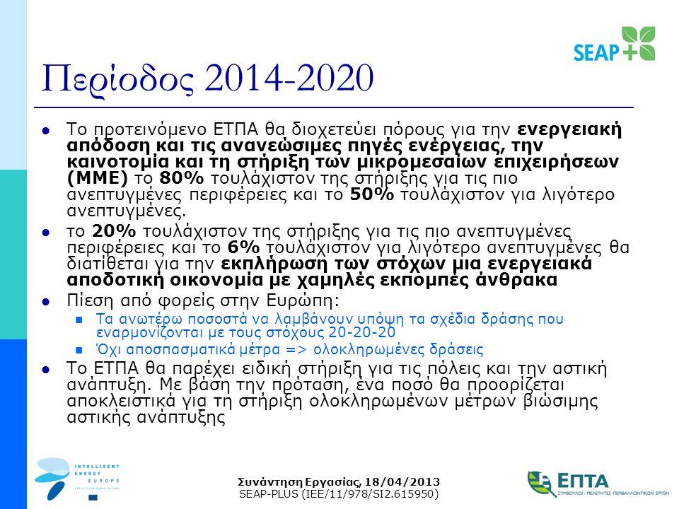 Περίοδος 2014-2020