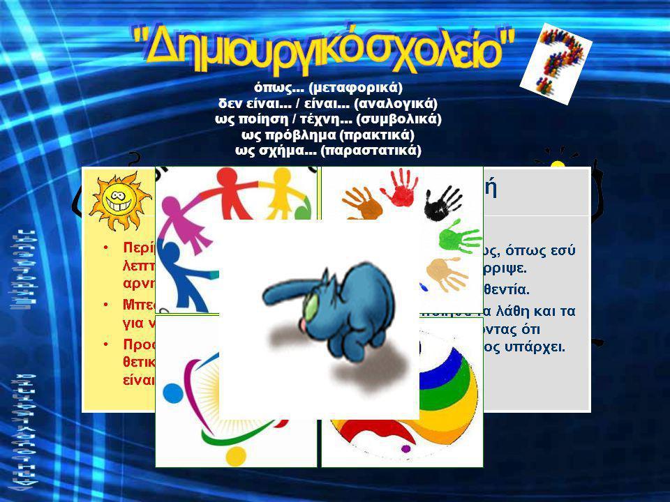 Δημιουργικό σχολείο School fun! Δημιουργικότητα Εκπαίδευση Πρόβλημα: