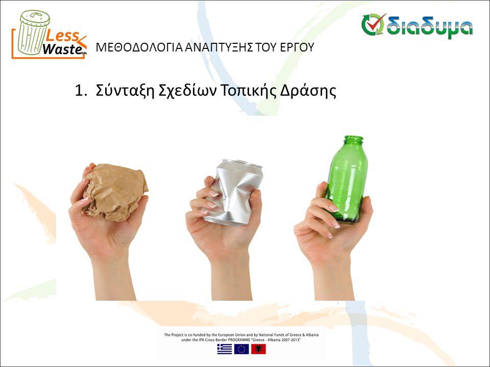 1. Σύνταξη Σχεδίων Τοπικής Δράσης