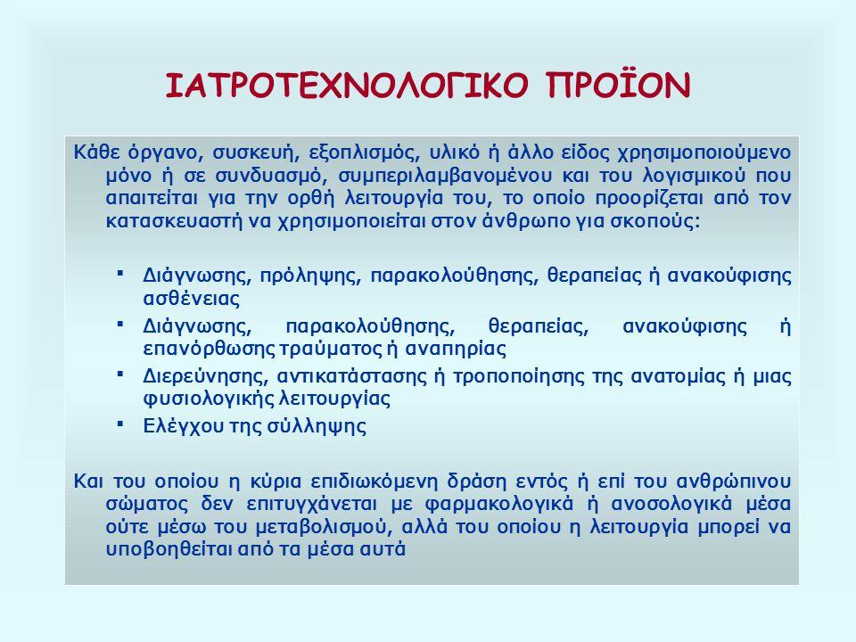 ΙΑΤΡΟΤΕΧΝΟΛΟΓΙΚΟ ΠΡΟΪΟΝ