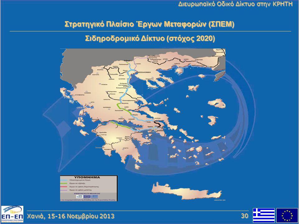 Στρατηγικό Πλαίσιο Έργων Μεταφορών (ΣΠΕΜ)