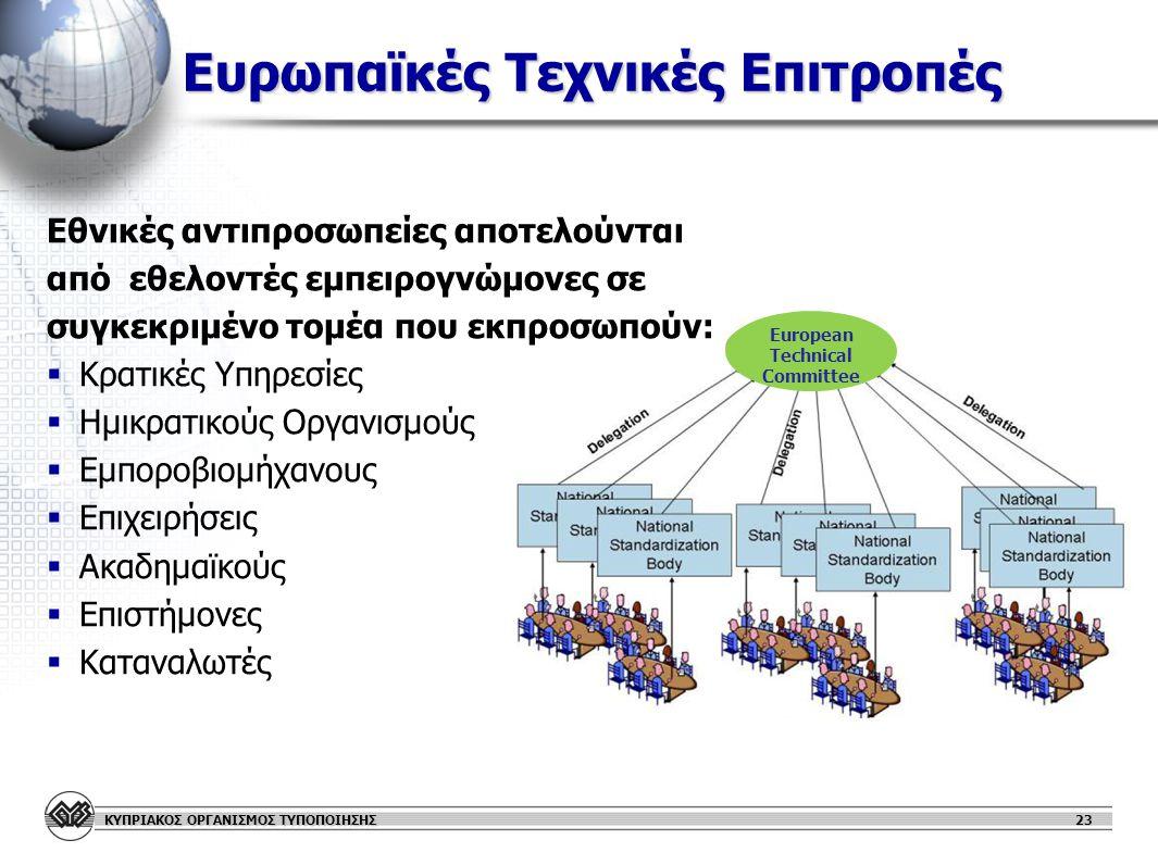 Ευρωπαϊκές Τεχνικές Επιτροπές
