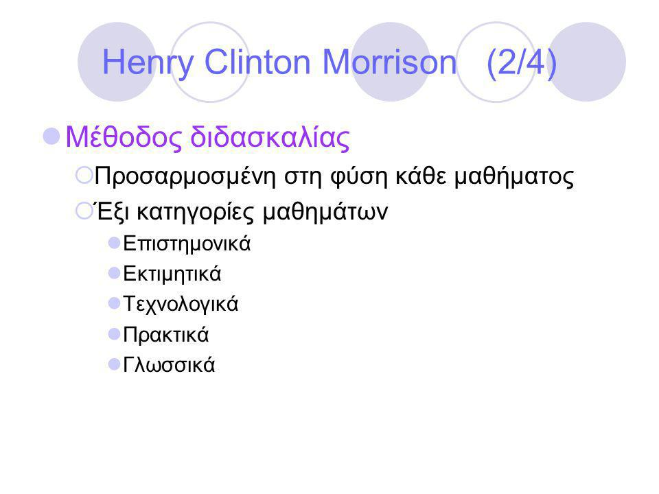 Henry Clinton Morrison (2/4)