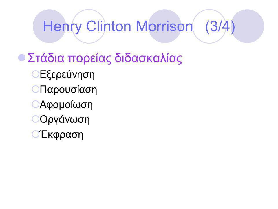 Henry Clinton Morrison (3/4)