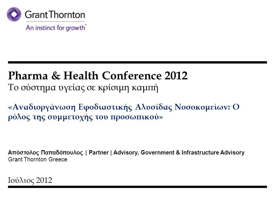 Pharma & Health Conference 2012