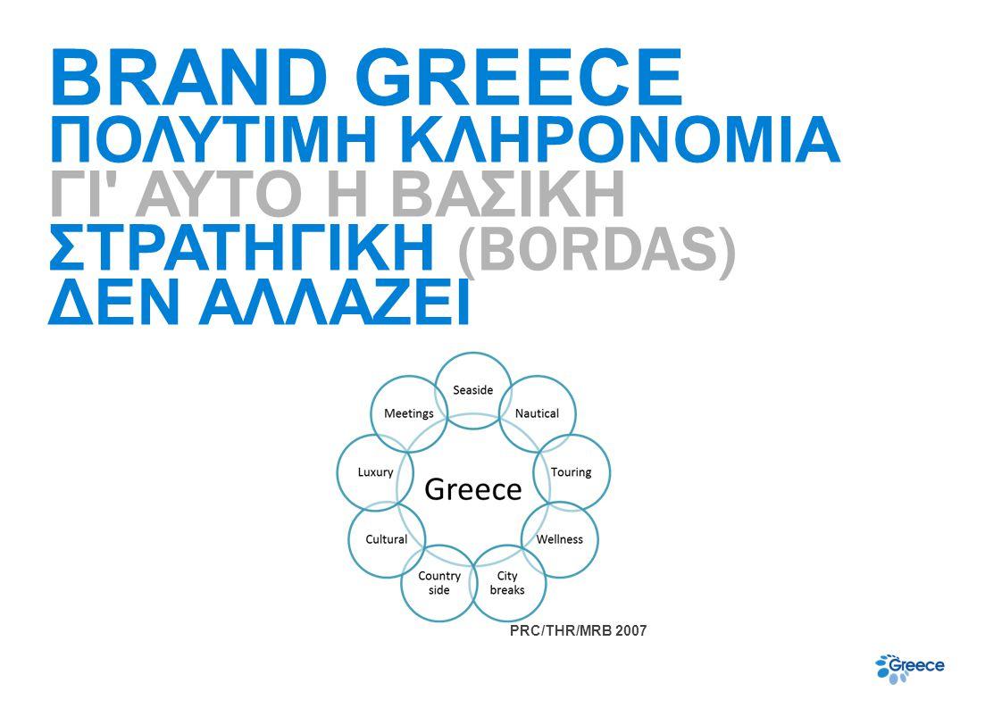 12. BRAND MANUAL USE BRAND GREECE ΠΟΛΥΤΙΜΗ ΚΛΗΡΟΝΟΜΙΑ ΓΙ ΑΥΤΟ Η ΒΑΣΙΚΗ ΣΤΡΑΤΗΓΙΚΗ (BORDAS) ΔΕΝ ΑΛΛΑΖΕΙ.