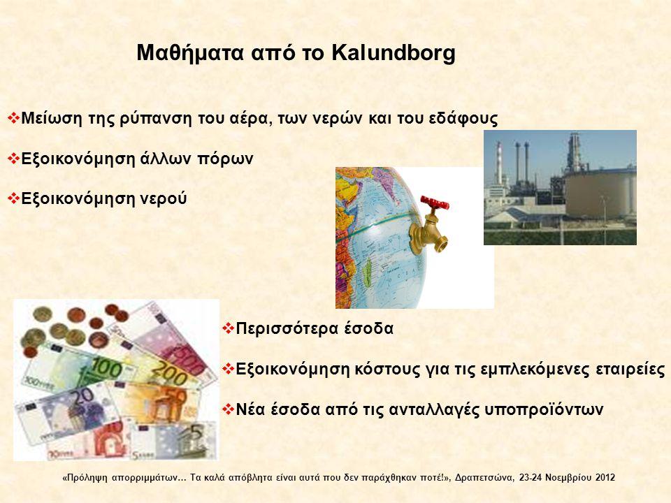 Μαθήματα από το Kalundborg
