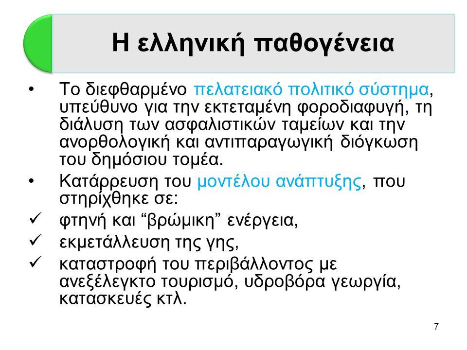 Η ελληνική παθογένεια Η Ελλάδα