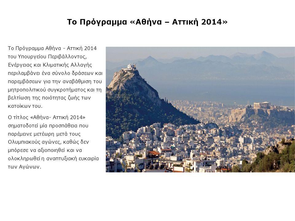 Το Πρόγραμμα «Αθήνα – Αττική 2014»