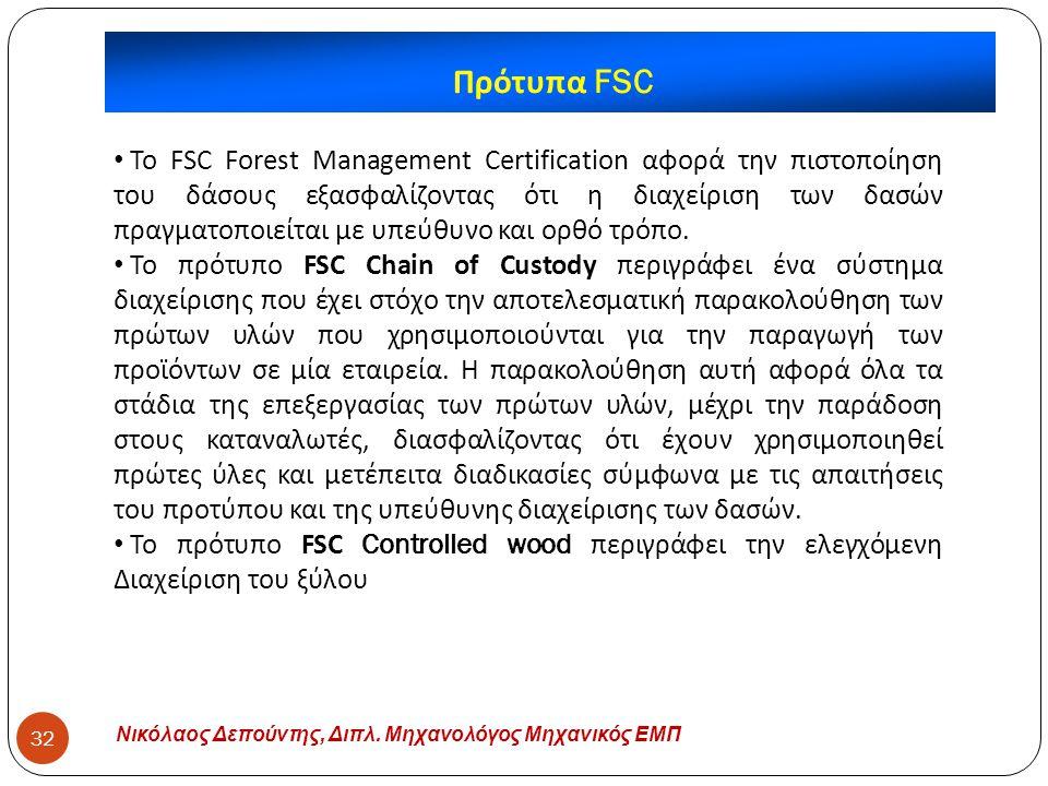 Πρότυπα FSC