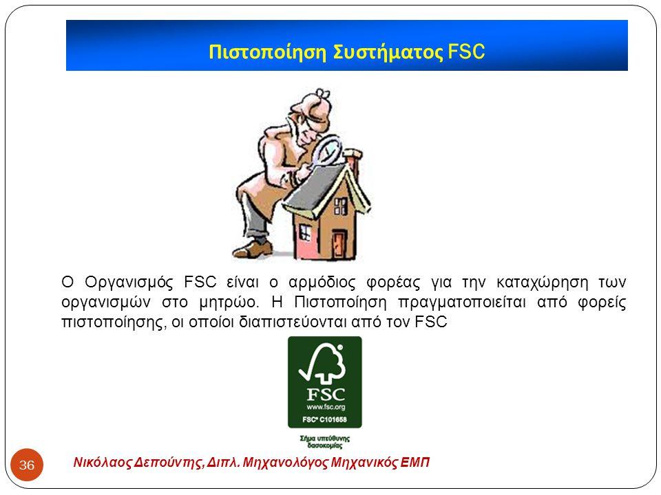 Πιστοποίηση Συστήματος FSC