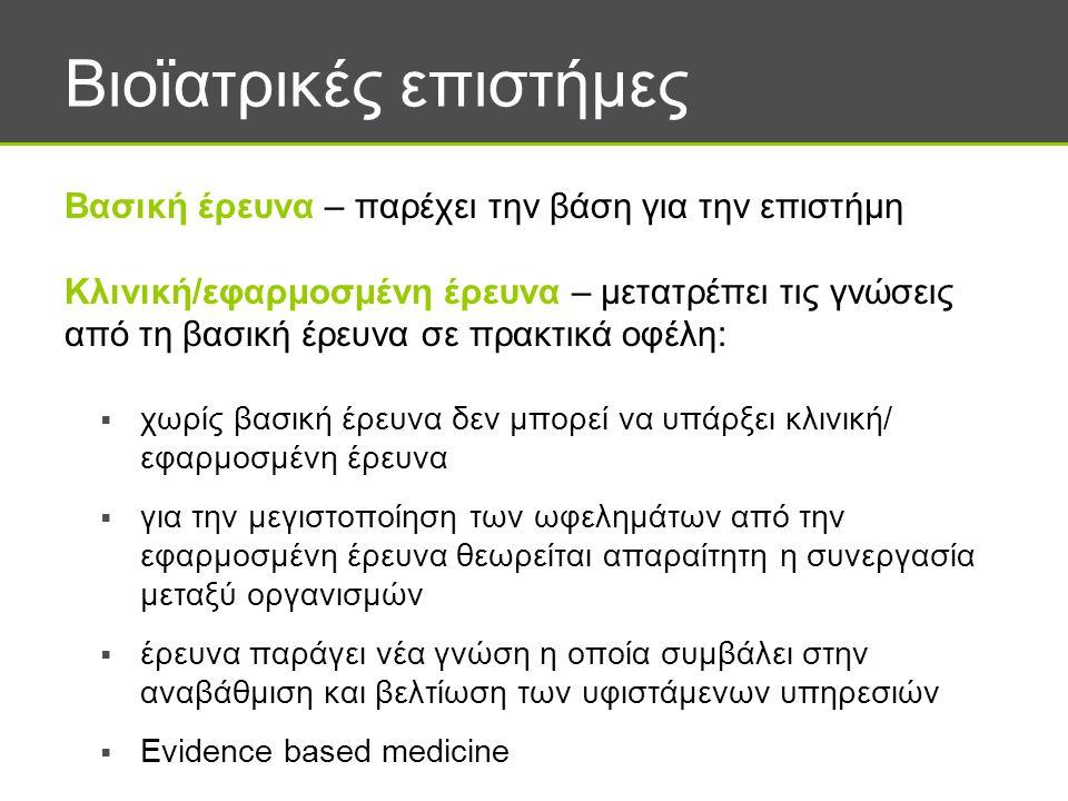 Βιοϊατρικές επιστήμες