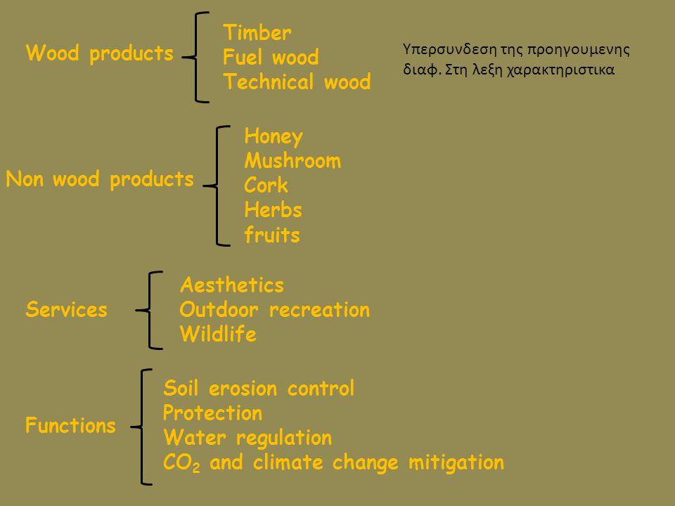 CO2 and climate change mitigation Functions