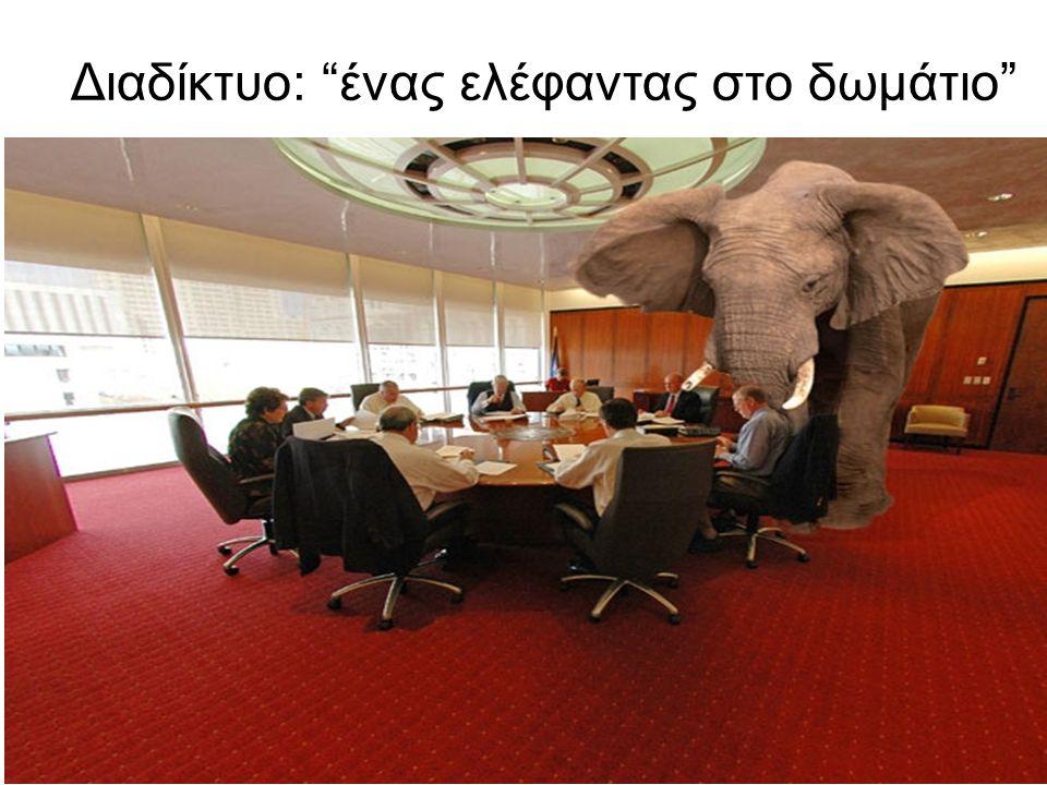 Διαδίκτυο: ένας ελέφαντας στο δωμάτιο