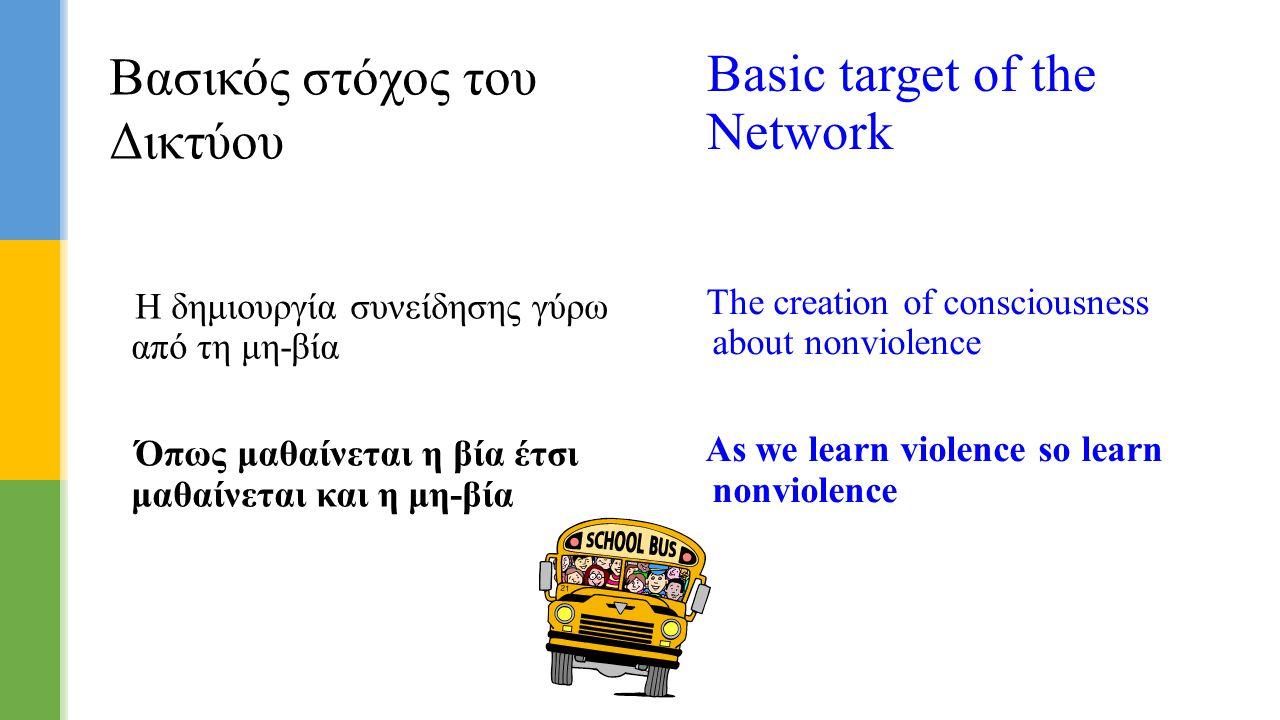 Βασικός στόχος του Δικτύου