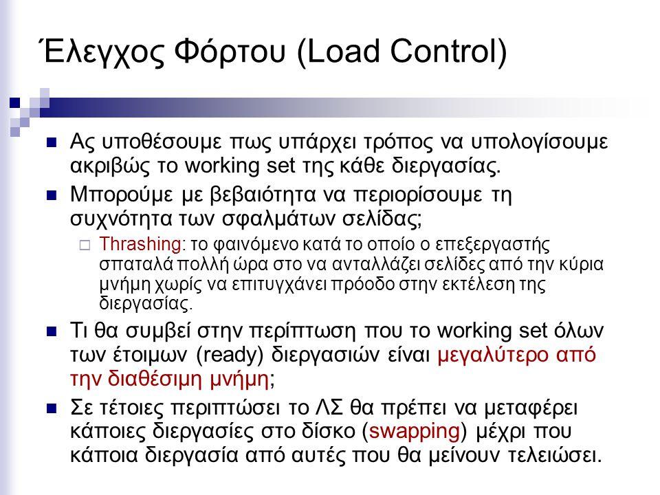 Έλεγχος Φόρτου (Load Control)