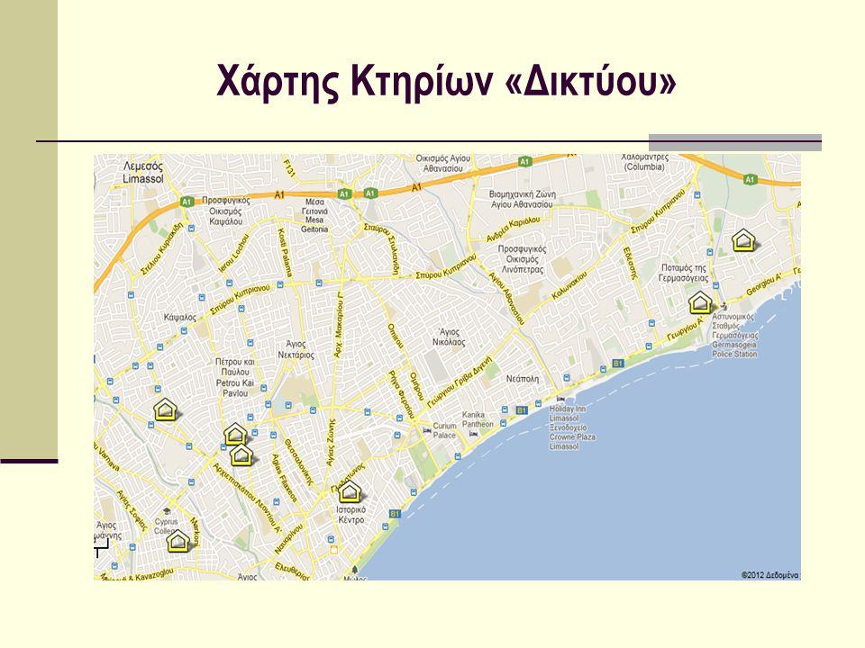 Χάρτης Κτηρίων «Δικτύου»