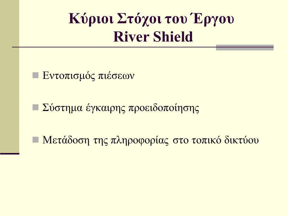 Κύριοι Στόχοι του Έργου River Shield
