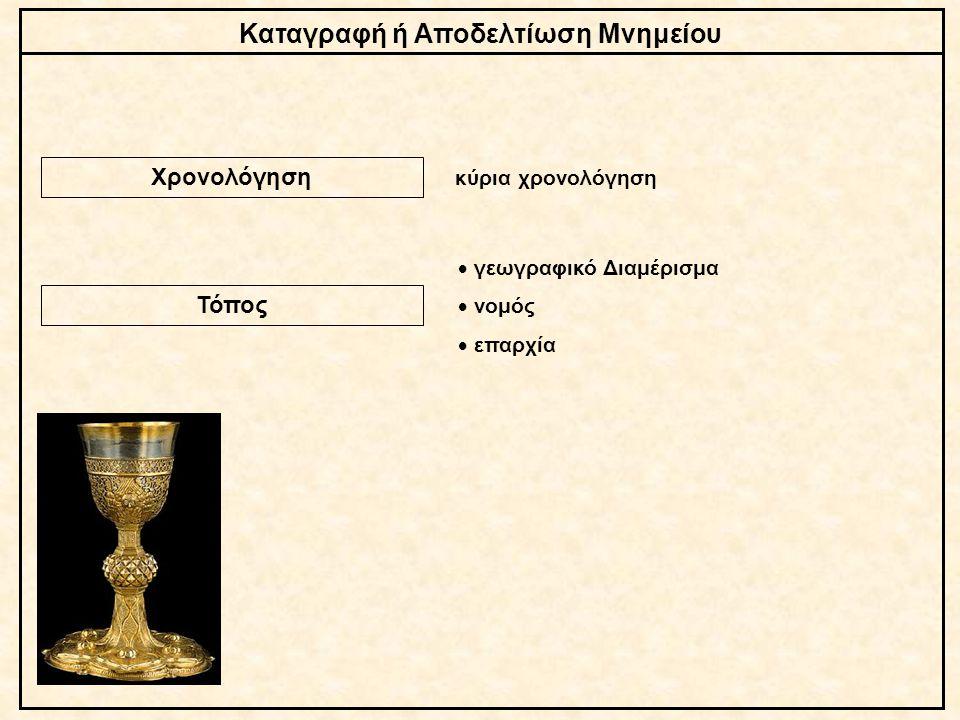 Καταγραφή ή Αποδελτίωση Μνημείου