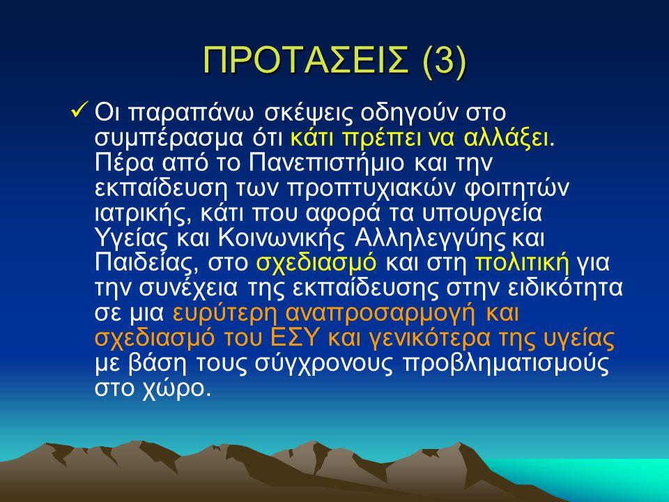 ΠΡΟΤΑΣΕΙΣ (3)