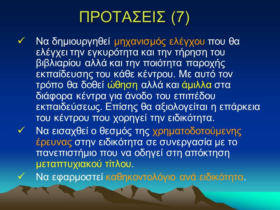 ΠΡΟΤΑΣΕΙΣ (7)