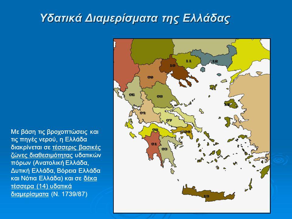 Υδατικά Διαμερίσματα της Ελλάδας