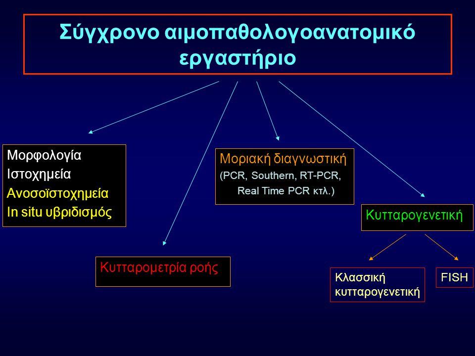 Σύγχρονο αιμοπαθολογοανατομικό εργαστήριο