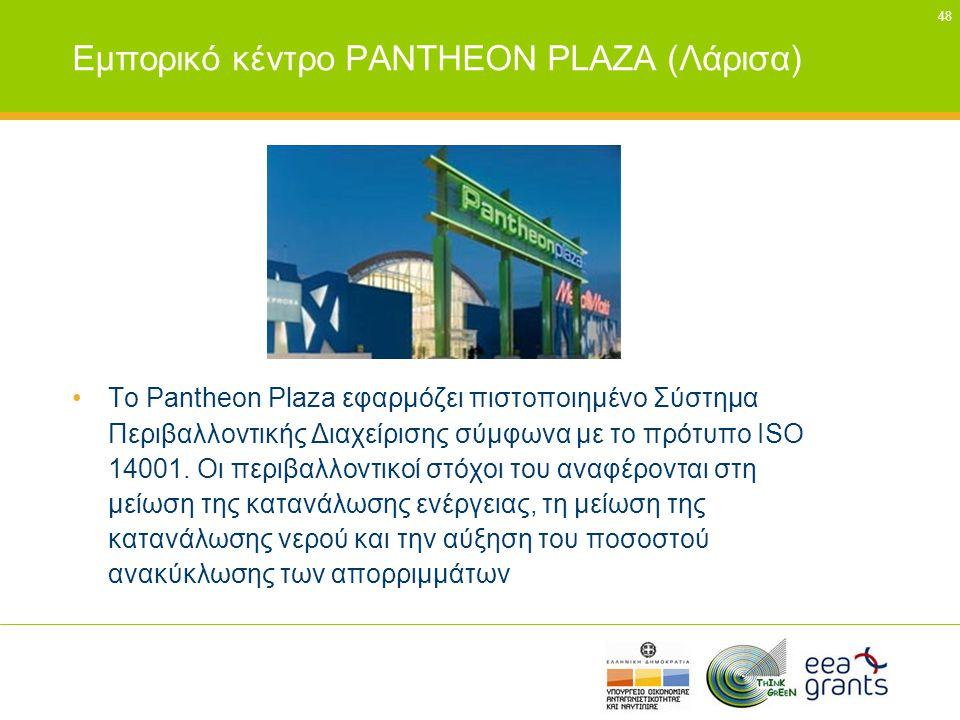 Εμπορικό κέντρο PANTHEON PLAZΑ (Λάρισα)
