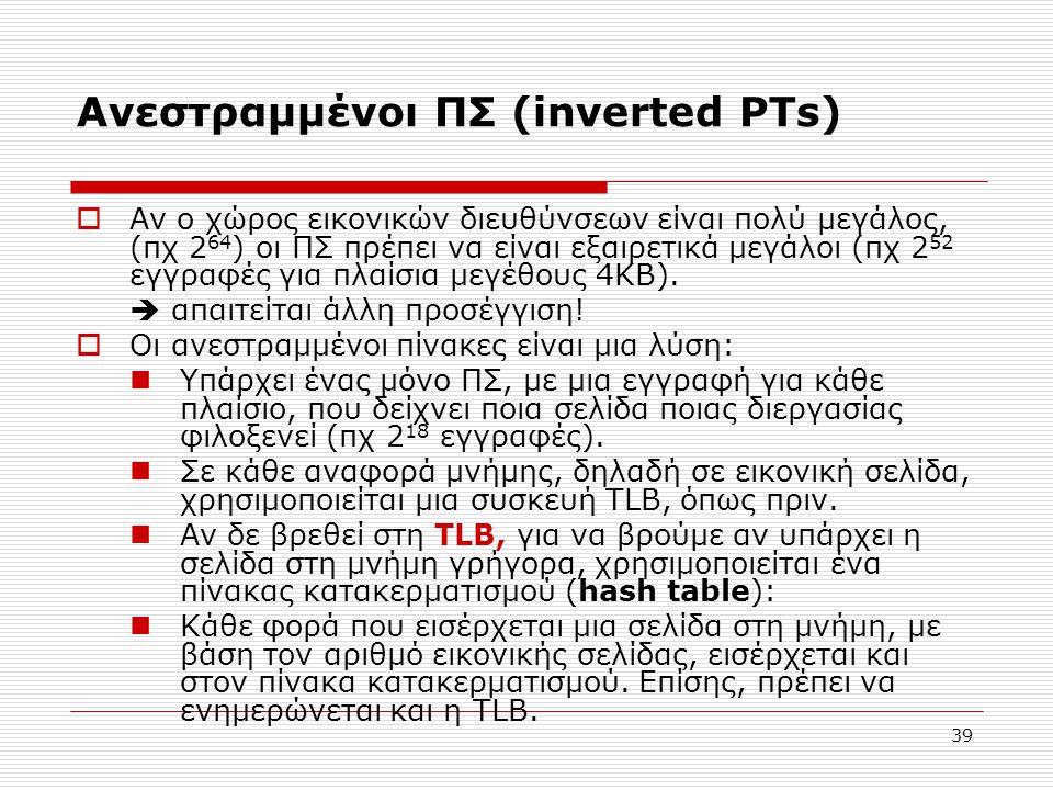 Ανεστραμμένοι ΠΣ (inverted PTs)