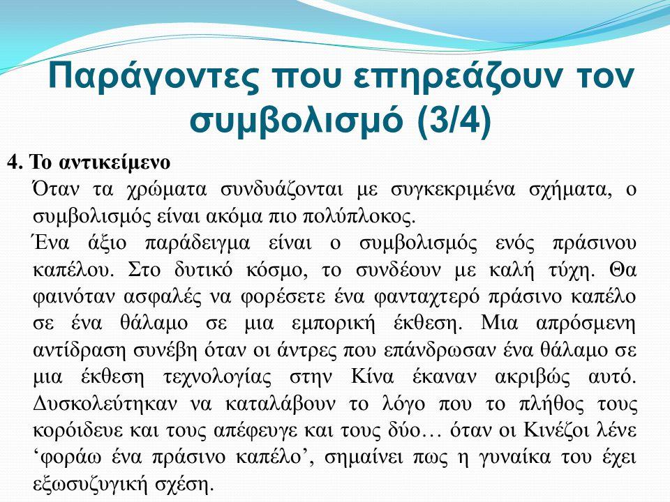 Παράγοντες που επηρεάζουν τον συμβολισμό (3/4)