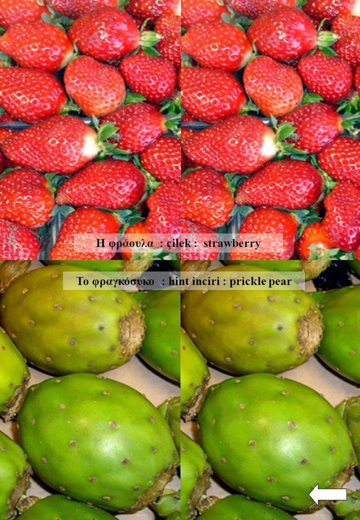 Η φράουλα : çilek : strawberry