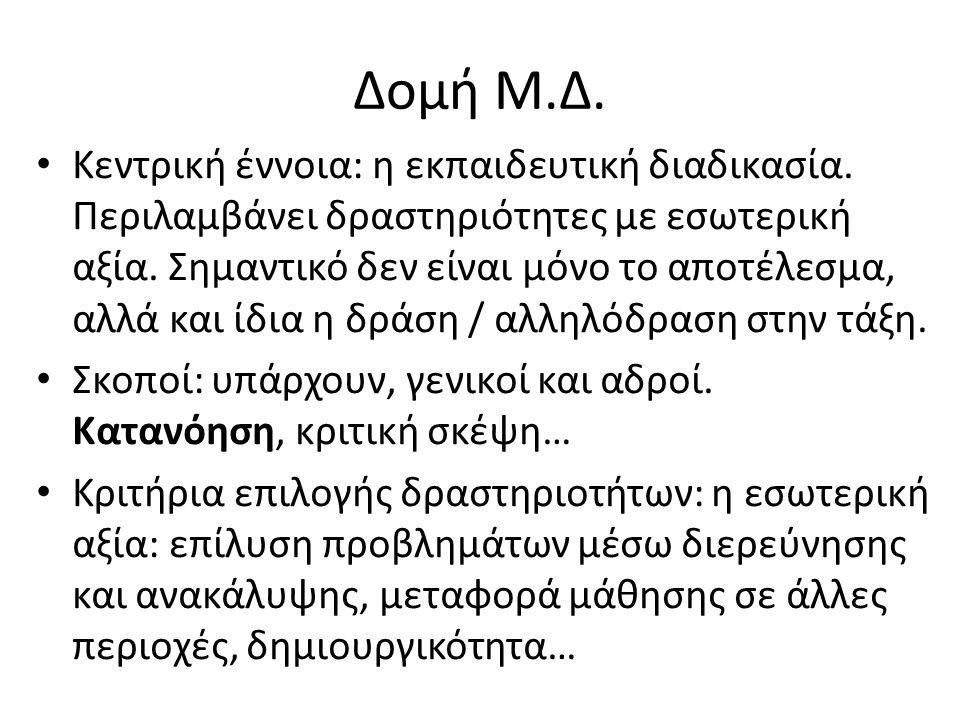 Δομή Μ.Δ.
