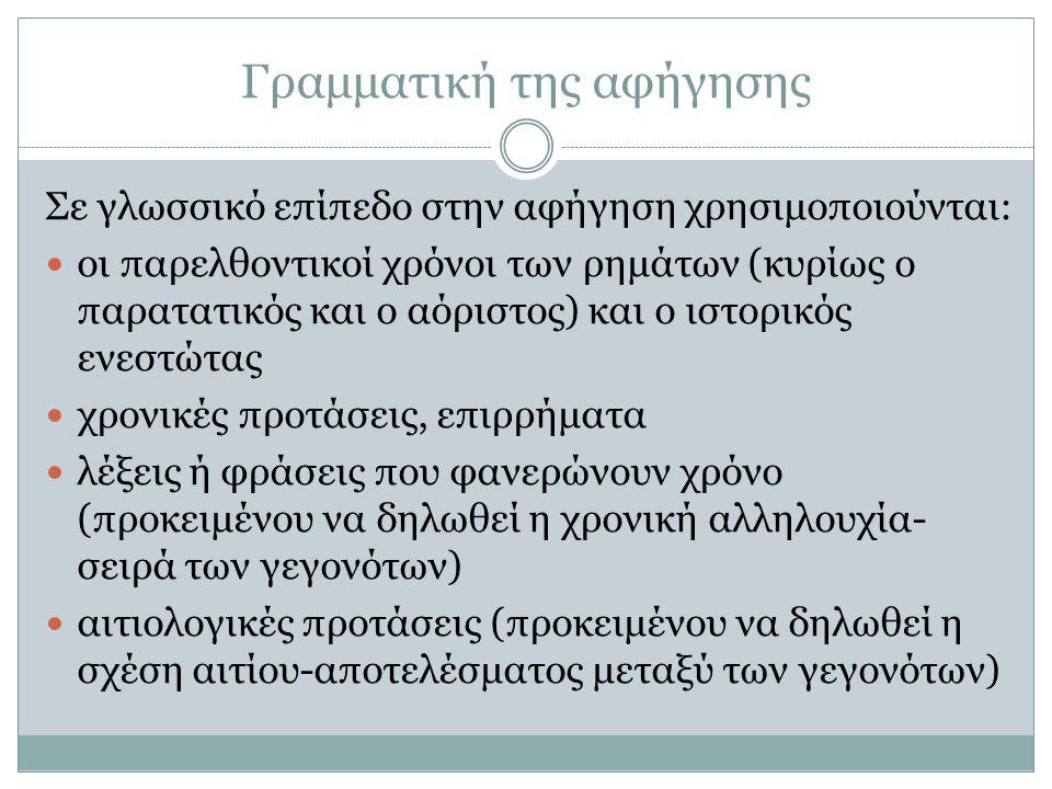 Γραμματική της αφήγησης