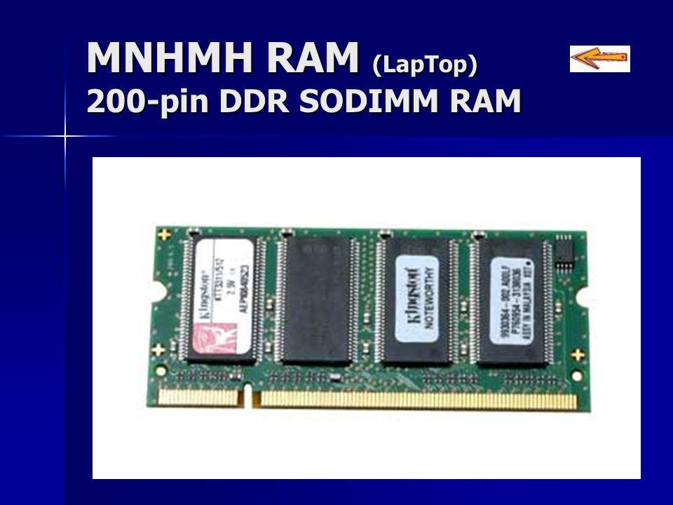 ΜΝΗΜΗ RAM (LapTop) 200-pin DDR SODIMM RAM