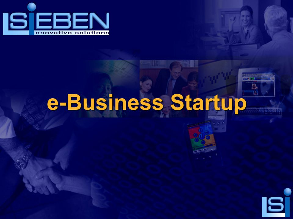 e-Business Startup