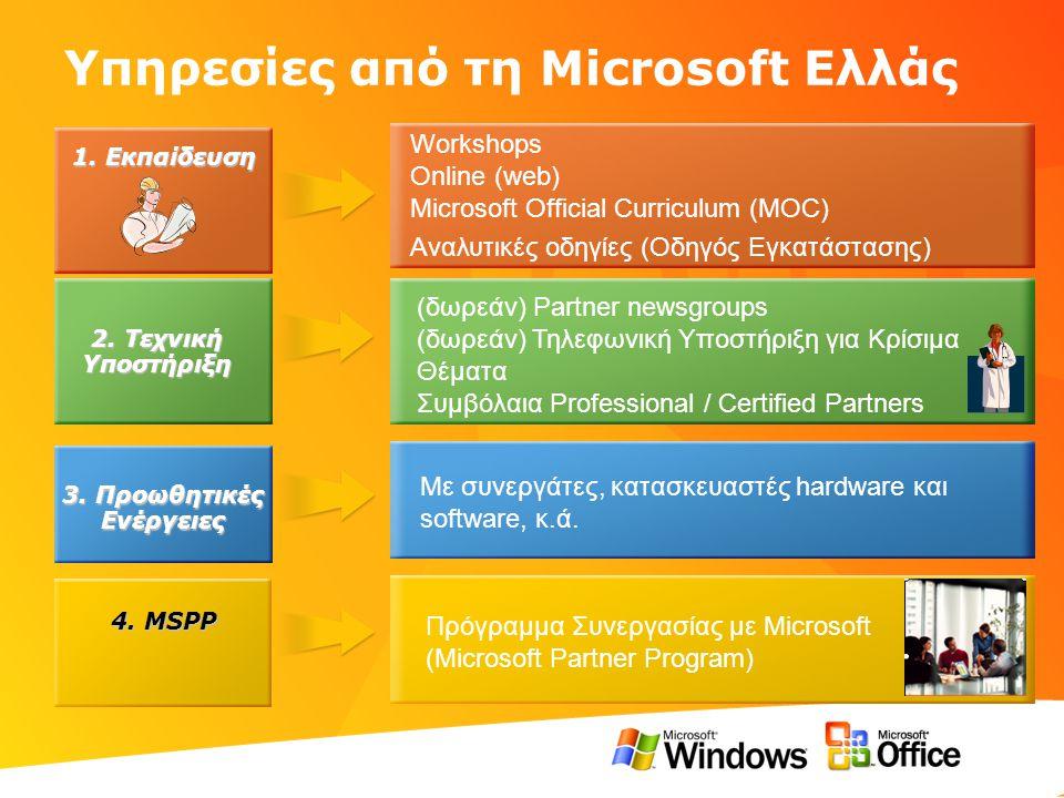 Υπηρεσίες από τη Microsoft Ελλάς