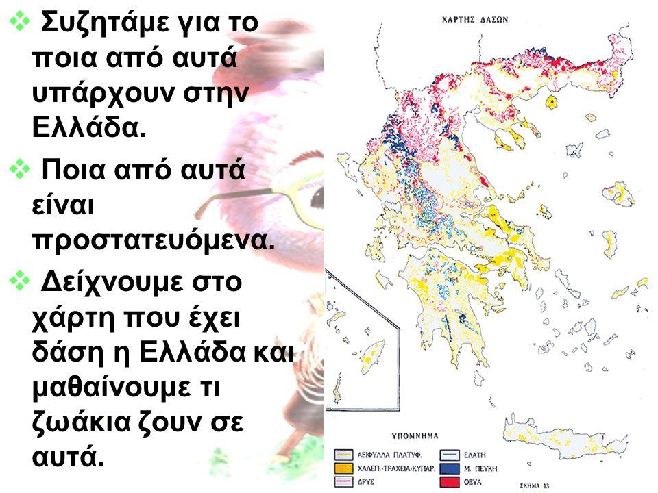 Συζητάμε για το ποια από αυτά υπάρχουν στην Ελλάδα.